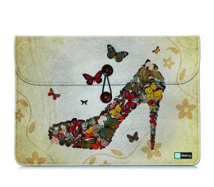 Tablet sleeve 10,1 inch vilt vlinder pump