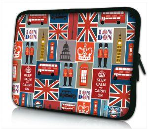 iPad hoes Londen patroon Sleevy