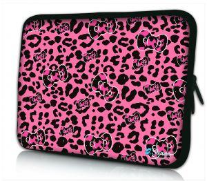 iPad hoes roze panterprint Sleevy