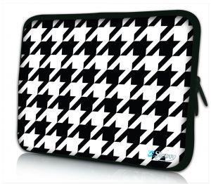 iPad hoes zwart wit patroon Sleevy