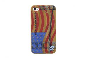 Sleevy iPhone 4 hoes San Francisco bamboo