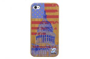 Sleevy iPhone 4 hoes Washington D.C. bamboo