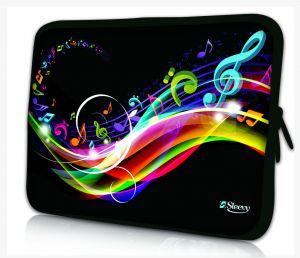 laptophoes 10.1 inch muzieknoten Sleevy