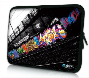 Laptophoes 11 inch graffiti design Sleevy