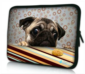 Laptophoes 11 inch grappig hondje Sleevy