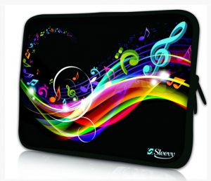 Sleevy 11,6 inch laptophoes macbookhoes muziek design