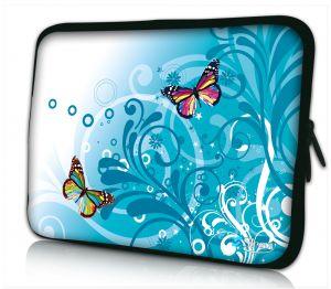 Laptophoes 13 inch gekleurde vlindertjes Sleevy