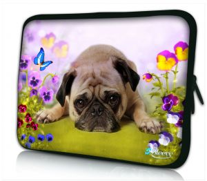 Laptophoes 13 inch hond Sleevy