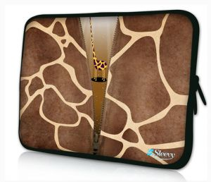 Sleevy 13,3 inch laptophoes macbookhoes giraffe