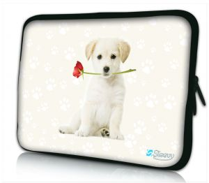 Laptophoes 13 inch klein hondje Sleevy
