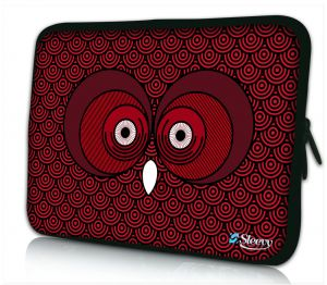 Laptophoes 13 inch rode uil Sleevy