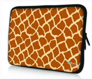 laptophoes 14 inch giraffe print sleevy