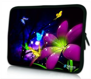 laptophoes 14 inch grote bloem Sleevy
