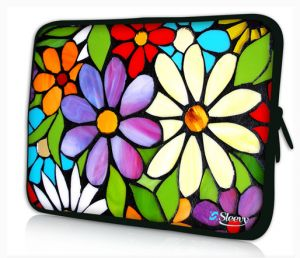 laptophoes 14 inch bloemen sleevy