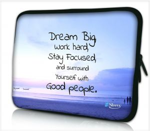 Laptophoes 14 inch dream big - Sleevy