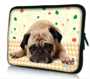 laptophoes 14 inch schattig hondje Sleevy