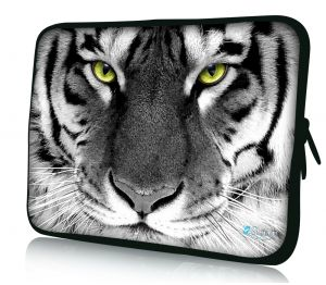 laptophoes 14 inch witte tijger sleevy