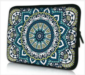 Laptophoes 15,6 inch patroon artistiek - Sleevy