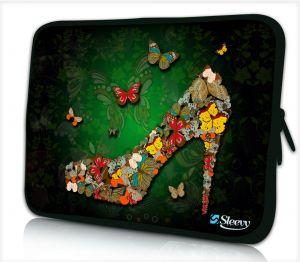 Sleevy 15,6 inch laptophoes vlinder pump