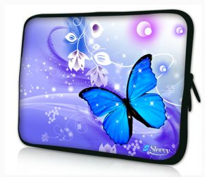 laptophoes 17,3 vlinder sleevy