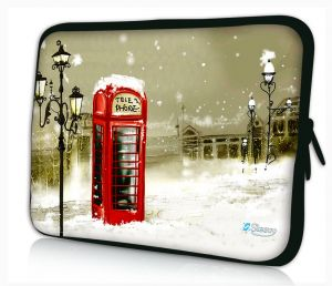 laptophoes 17.3 inch Londense telefooncel Sleevy