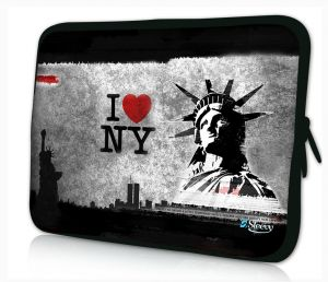laptophoes 17.3 inch I love New York Sleevy