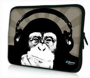 laptophoes 17.3 inch chimpansee Sleevy