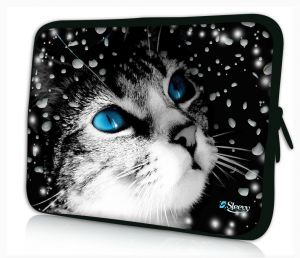 laptophoes 17.3 inch leuk katje Sleevy