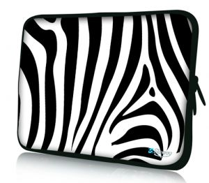 "Sleevy 15"" laptophoes zebra"