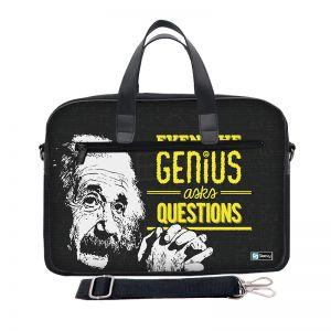 Laptoptas 15,6 inch / schoudertas Genius - Sleevy