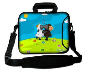 laptoptas 15,6 inch Sleevy schaapjes