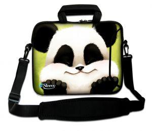laptoptas 15 inch schattig pandabeertje Sleevy