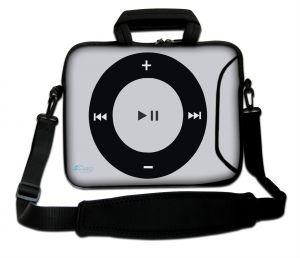 Sleevy 15,6 inch laptoptas playknop