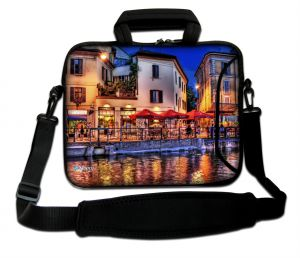 Sleevy 15.6 inch laptoptas Venetië