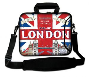 laptoptas 17 inch pop-up Londen Sleevy