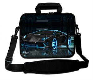 Sleevy 17,3 inch laptoptas sportauto design