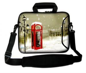 Sleevy 17,3 inch laptoptas Londense telefooncel