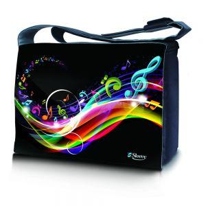 17,3 inch laptoptas muzieknoten Sleevy