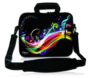 Sleevy 17,3 inch laptoptas muziek