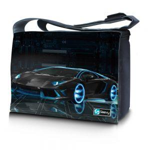 Messengertas / laptoptas 17,3 inch sportauto - Sleevy