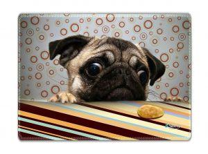 Muismat grappig hondje - Sleevy