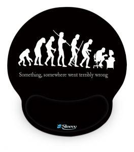 Muismat polssteun grappige evolutie - Sleevy