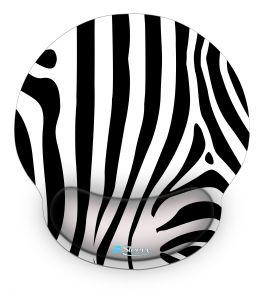 Muismat polssteun zebra design - Sleevy