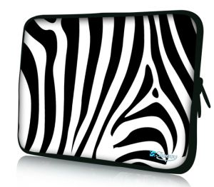 "Sleevy 13"" laptophoes zebra"