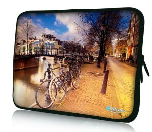 """Sleevy 17"""" laptophoes amsterdam"""