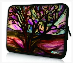 Sleevy 13,3 inch laptophoes kunst