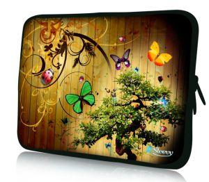"""Sleevy 11"""" laptophoes vlinders"""