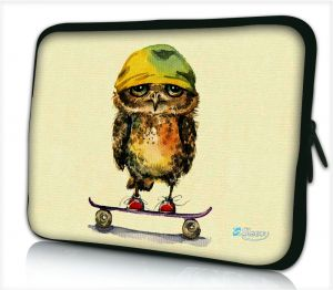 Tablet hoes / laptophoes 10,1 inch uil skateboard - Sleevy
