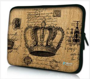 Sleeve 9,7 inch iPad/tablet koninklijke kroon