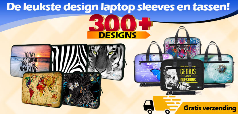 Laptop Sleeves en Tassen